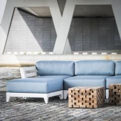 Mia lounge white 2