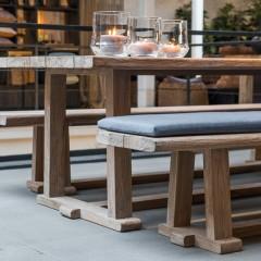 outdoor table & bench JOSSE